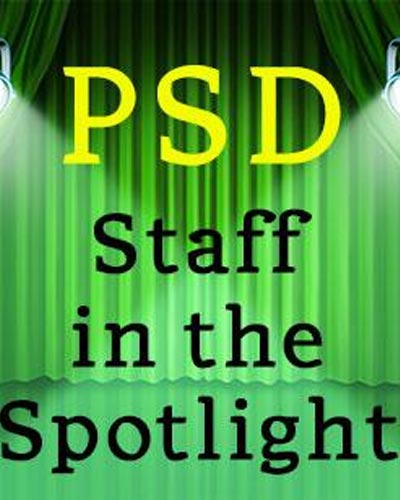 PSD staff in the spotlight