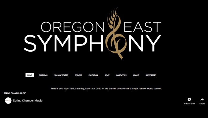 Oregon east symphony
