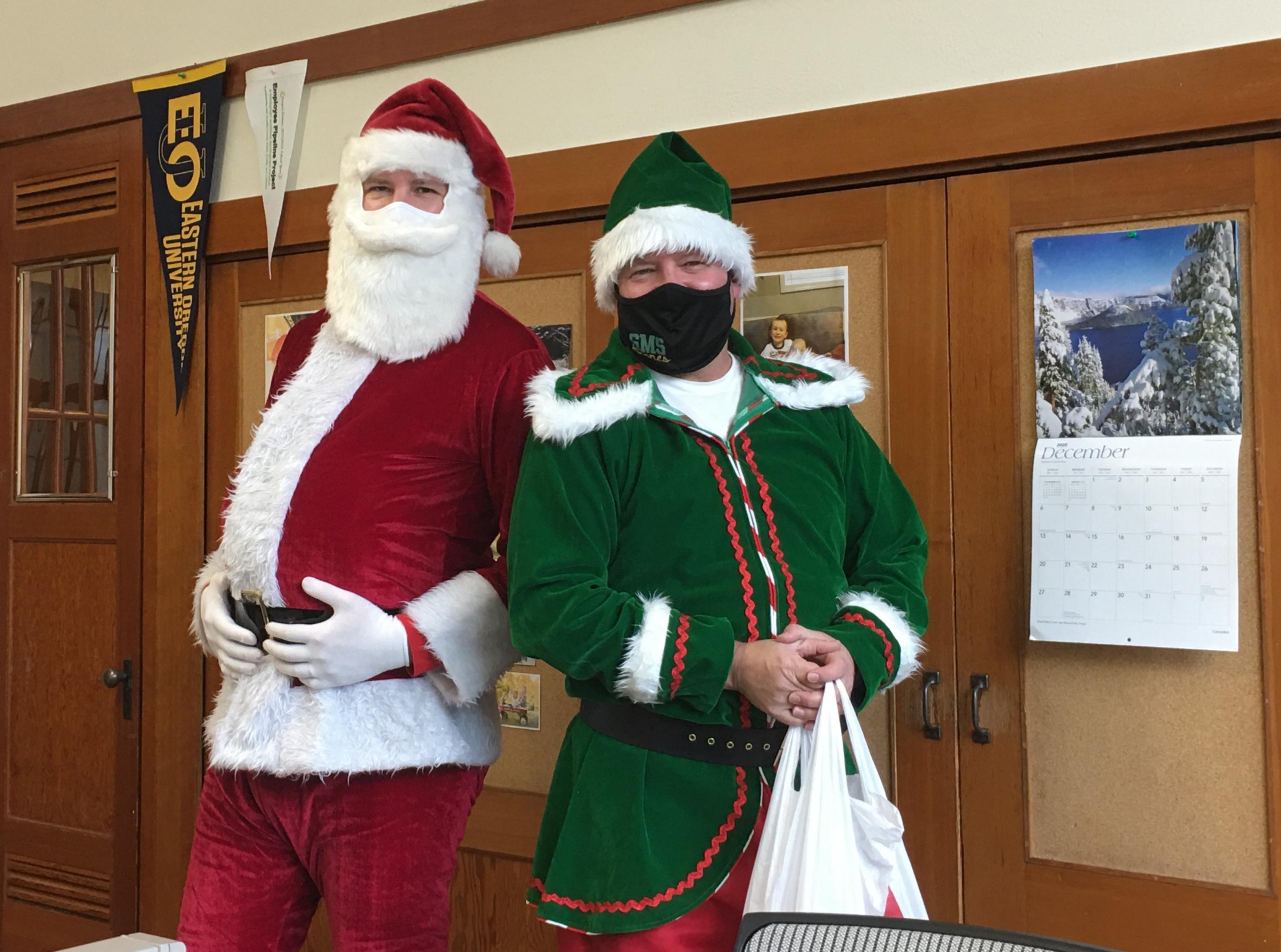 Santa and Jingles